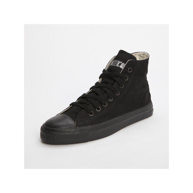 fair trade sneaker all black hicut 39 90. Black Bedroom Furniture Sets. Home Design Ideas
