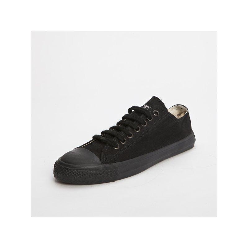 fair trade sneaker all black locut gr 42 34 90. Black Bedroom Furniture Sets. Home Design Ideas