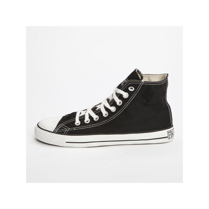 fair trade sneaker black white hicut 39 90. Black Bedroom Furniture Sets. Home Design Ideas