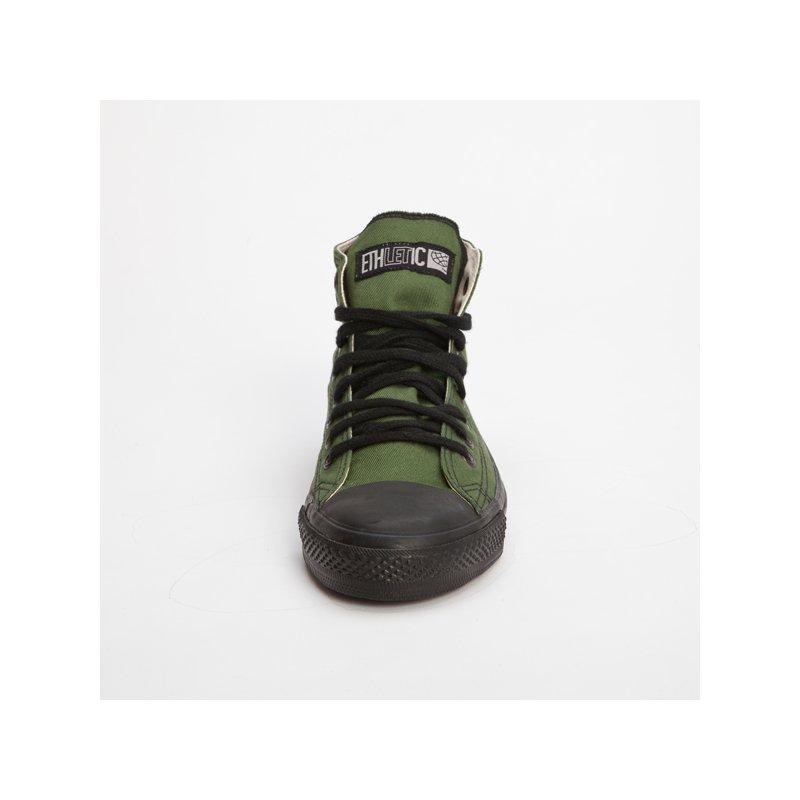 fair trade sneaker olive black hicut 39 90. Black Bedroom Furniture Sets. Home Design Ideas