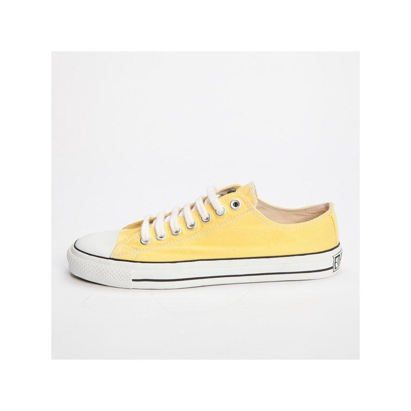 fair trade sneaker yellow white locut 34 90. Black Bedroom Furniture Sets. Home Design Ideas