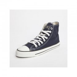 FAIR TRADE-Sneaker Darkblue HiCut