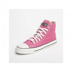 FAIR TRADE-Sneaker Pink HiCut