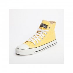 FAIR TRADE-Sneaker Yellow/White HiCut