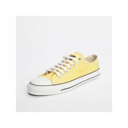 FAIR TRADE-Sneaker Yellow/White LoCut