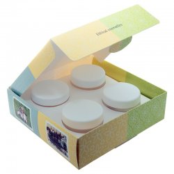 Fair Squared Body Butter Set, 4 x 50ml