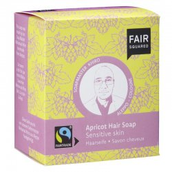 Fair Squared Hair Soap Apricot Sensitive Skin 2x80g