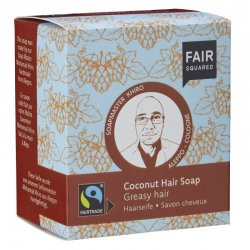 Fair Squared Hair Soap Coconut Greasy Hair 2x80g
